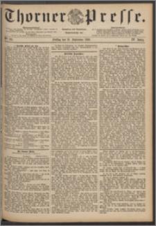Thorner Presse 1886, Jg. IV, Nro. 211