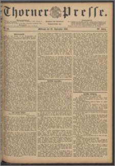 Thorner Presse 1886, Jg. IV, Nro. 221