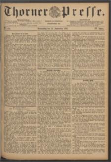 Thorner Presse 1886, Jg. IV, Nro. 222