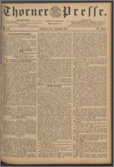 Thorner Presse 1886, Jg. IV, Nro. 223