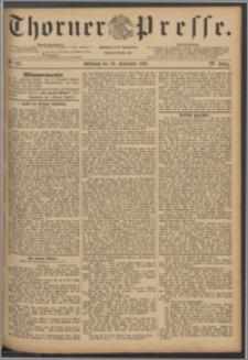 Thorner Presse 1886, Jg. IV, Nro. 227