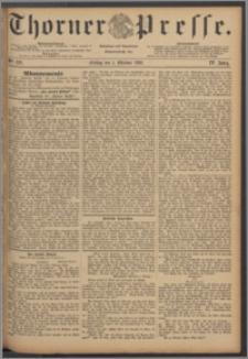 Thorner Presse 1886, Jg. IV, Nro. 229