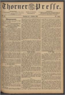 Thorner Presse 1886, Jg. IV, Nro. 231 + Beilage