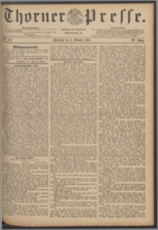 Thorner Presse 1886, Jg. IV, Nro. 233