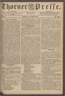 Thorner Presse 1886, Jg. IV, Nro. 244