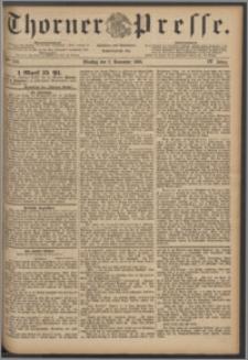 Thorner Presse 1886, Jg. IV, Nro. 256