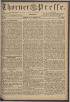 Thorner Presse 1886, Jg. IV, Nro. 257