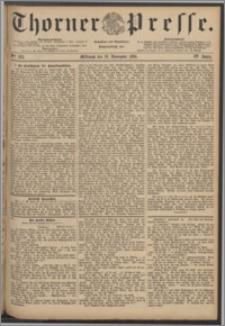 Thorner Presse 1886, Jg. IV, Nro. 263