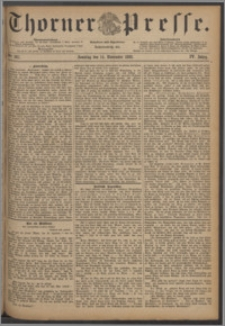 Thorner Presse 1886, Jg. IV, Nro. 267 + Beilage