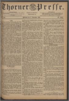 Thorner Presse 1886, Jg. IV, Nro. 269