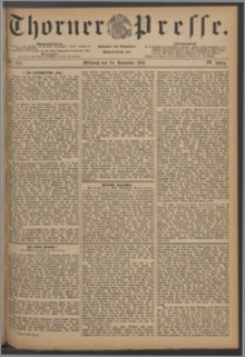 Thorner Presse 1886, Jg. IV, Nro. 275