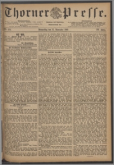 Thorner Presse 1886, Jg. IV, Nro. 276