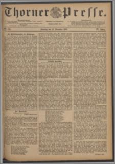 Thorner Presse 1886, Jg. IV, Nro. 291 + Beilage