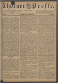 Thorner Presse 1886, Jg. IV, Nro. 292
