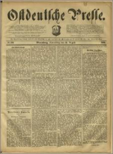 Ostdeutsche Presse. J. 12, 1888, nr 191