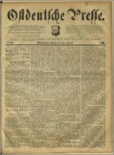 Ostdeutsche Presse. J. 12, 1888, nr 194