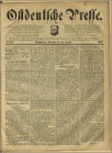 Ostdeutsche Presse. J. 12, 1888, nr 195