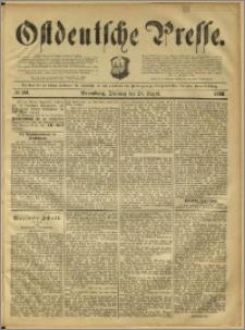 Ostdeutsche Presse. J. 12, 1888, nr 201