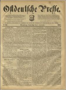 Ostdeutsche Presse. J. 12, 1888, nr 209