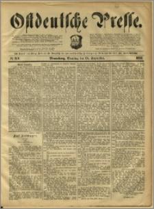 Ostdeutsche Presse. J. 12, 1888, nr 219