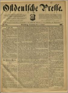Ostdeutsche Presse. J. 12, 1888, nr 233