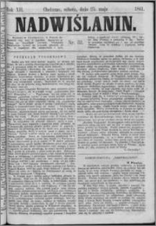 Nadwiślanin, 1861.05.25 R. 12 nr 52