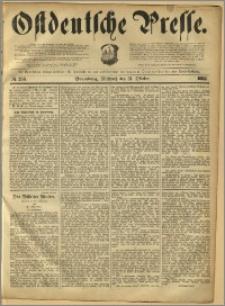 Ostdeutsche Presse. J. 12, 1888, nr 256