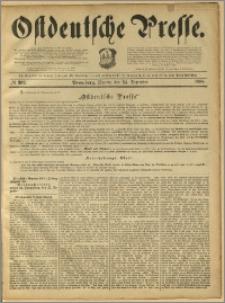 Ostdeutsche Presse. J. 12, 1888, nr 302