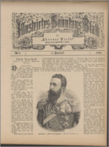 Illustrirtes Sonntags Blatt 1886, 4 Quartal, nr 6