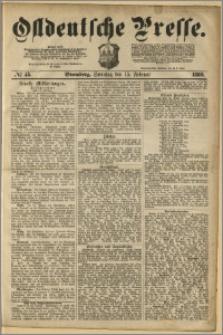 Ostdeutsche Presse. J. 4, 1880, nr 45
