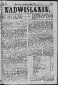 Nadwiślanin, 1861.06.20 R. 12 nr 61