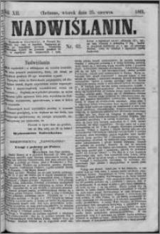 Nadwiślanin, 1861.06.25 R. 12 nr 62