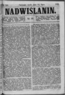 Nadwiślanin, 1861.07.10 R. 12 nr 65