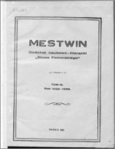 Mestwin, R. 5 nr 1, (1929)