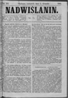 Nadwiślanin, 1861.08.01 R. 12 nr 71