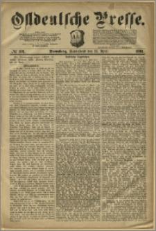 Ostdeutsche Presse. J. 5, 1881, nr 103