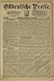 Ostdeutsche Presse. J. 5, 1881, nr 109