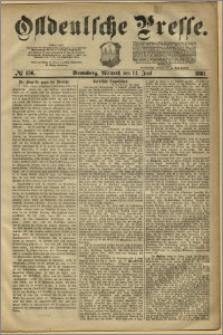 Ostdeutsche Presse. J. 5, 1881, nr 156