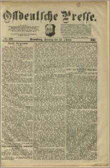 Ostdeutsche Presse. J. 5, 1881, nr 287