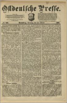 Ostdeutsche Presse. J. 5, 1881, nr 289