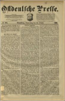 Ostdeutsche Presse. J. 5, 1881, nr 291