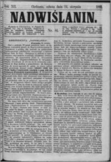 Nadwiślanin, 1861.08.24 R. 12 nr 81