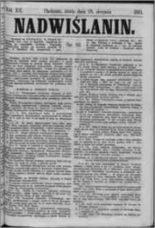 Nadwiślanin, 1861.08.28 R. 12 nr 82