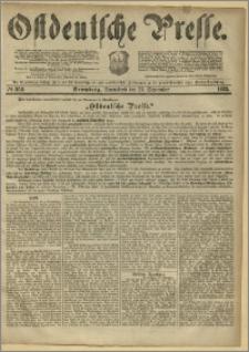 Ostdeutsche Presse. J. 6, 1882, nr 258