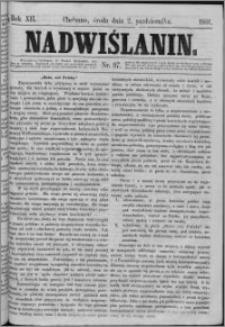 Nadwiślanin, 1861.10.02 R. 12 nr 97