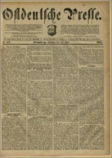 Ostdeutsche Presse. J. 7, 1883, nr 107