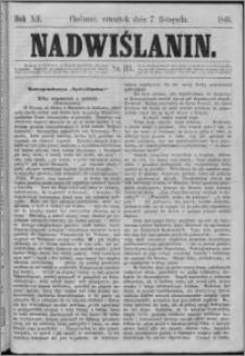 Nadwiślanin, 1861.11.07 R. 12 nr 111
