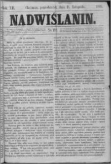 Nadwiślanin, 1861.11.11 R. 12 nr 112