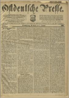 Ostdeutsche Presse. J. 8, 1884, nr 1