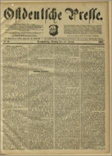 Ostdeutsche Presse. J. 8, 1884, nr 11
